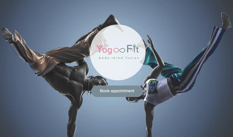 Yog Fit website - webdesign - pixelpakhuys | ello