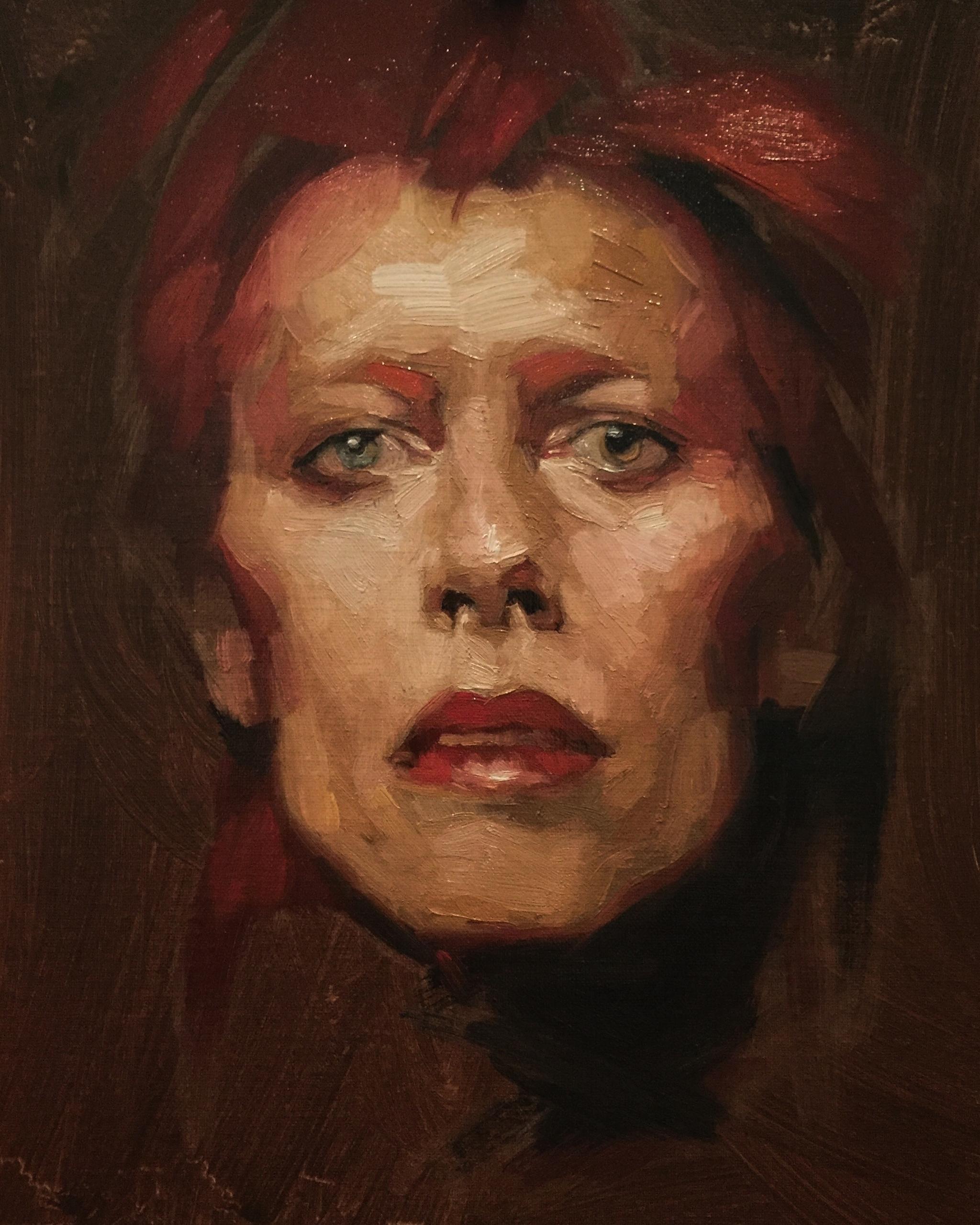 Bowie tribute - davidbowie, fineart - jen_art | ello