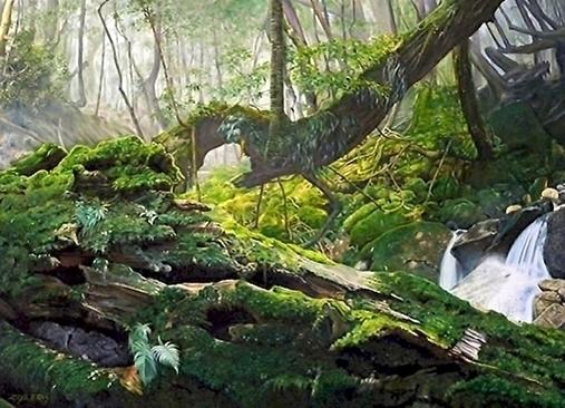 Japanese forest 2 - ziyae | ello