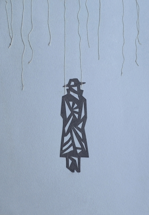 Franz Kafka - illustration, collage - odarkaluhihi | ello