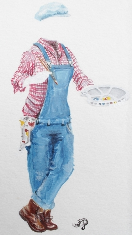 Website icon Acrylics - illustration - emilygrobler | ello