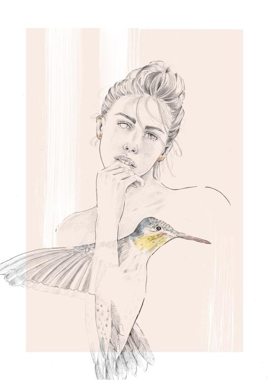 Pensils, paint photoshop - illustration - jonatanbendixen | ello