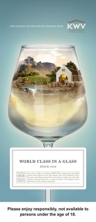 White Wine - 3D, Modelling, Digitalillustration - vantage-9372 | ello