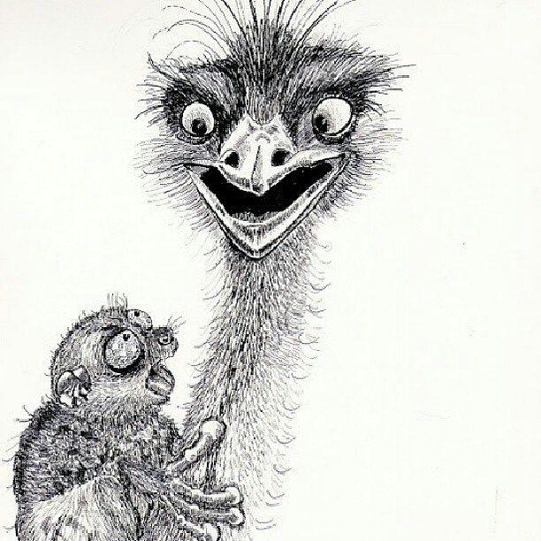 smile - pen, drawing, animals, animal - artolgash | ello