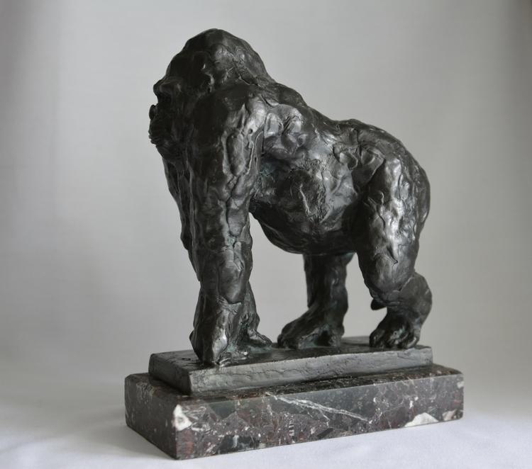 GORILLA - sculpture, 3dart, gorilla - barakesculptor | ello