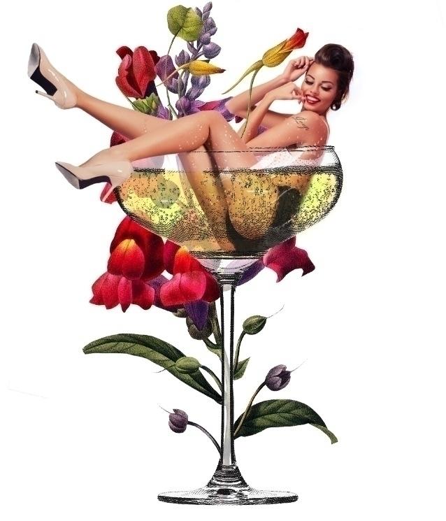 Loup Champagne Menu - picturgency | ello