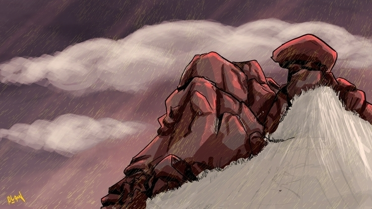 red mountain, Rofat El-shahhed  - mahmoudswielam | ello