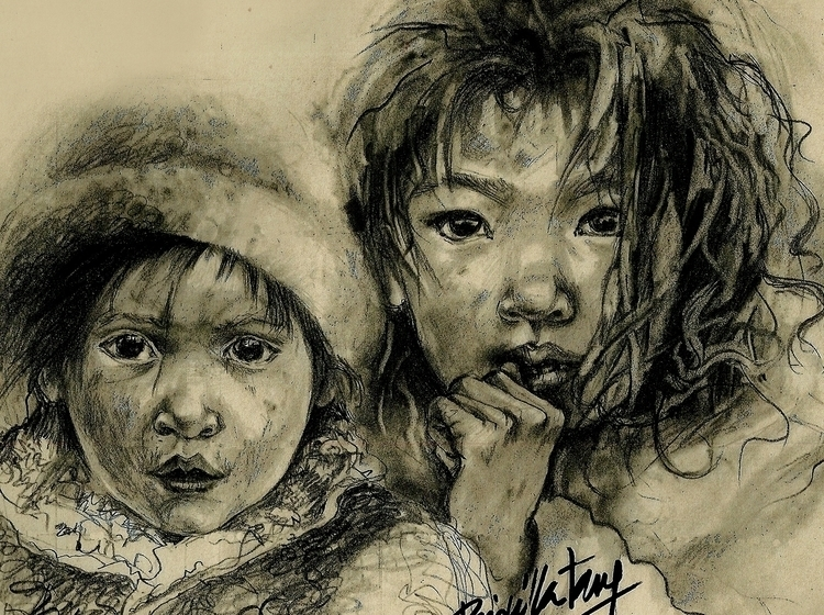 Protect Children - Urchins - illustration - yctang   ello