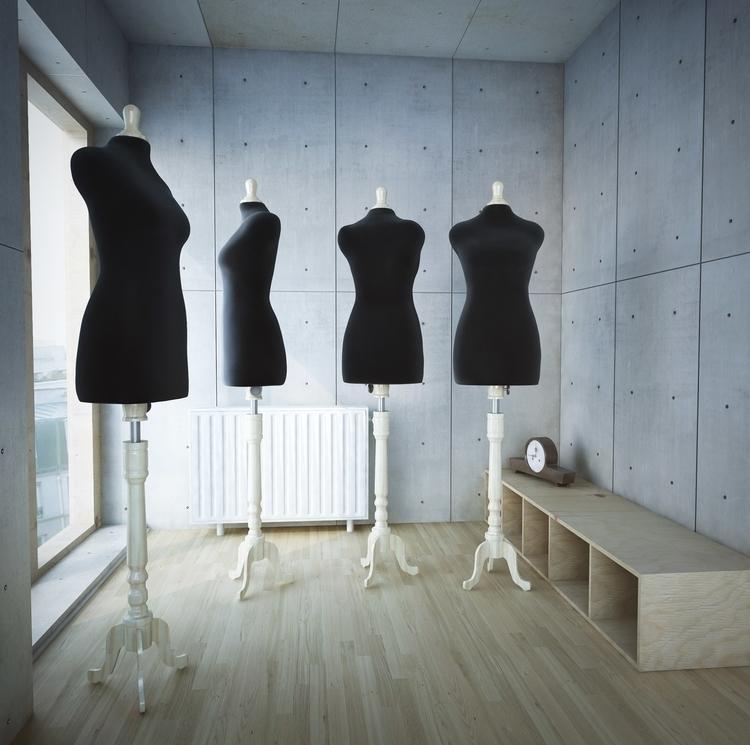 room - 3d, motiondesign, fashion - cruvi | ello