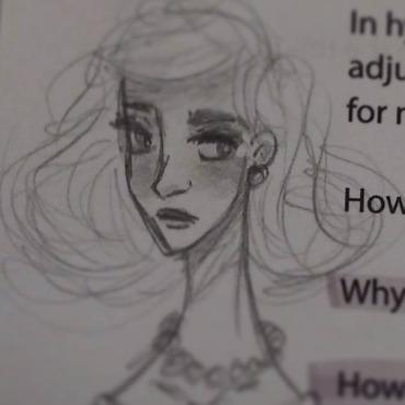 Elegance - illustration, characterdesign - feather827art | ello