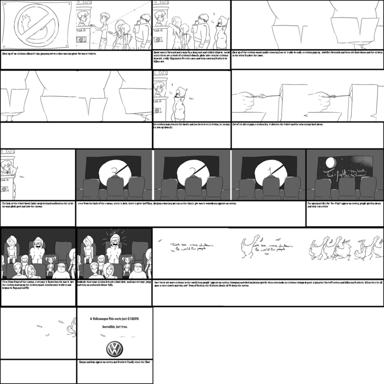 rough storyboard - shortstuffcl | ello