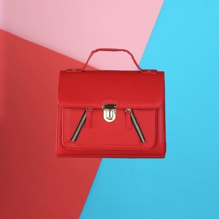 Bright Red Bag - colour, color, bright - eadaoinmccarthy | ello