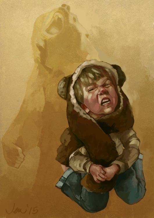 scary bear, inspired Star Wars  - estirdalin   ello