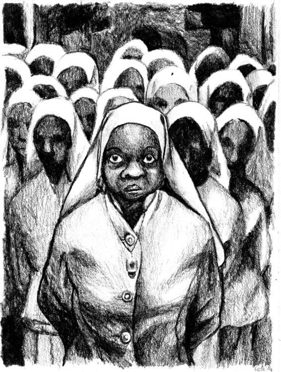 Ethel Shariff, Gordon Parks - illustration - fede-1364   ello