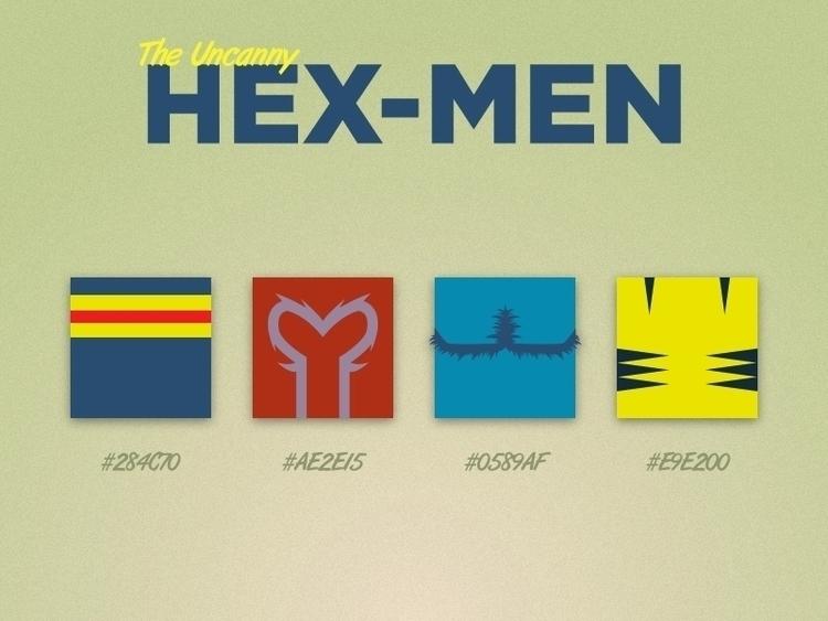 Hexadecimal Mutants - illustration - mottsawce | ello