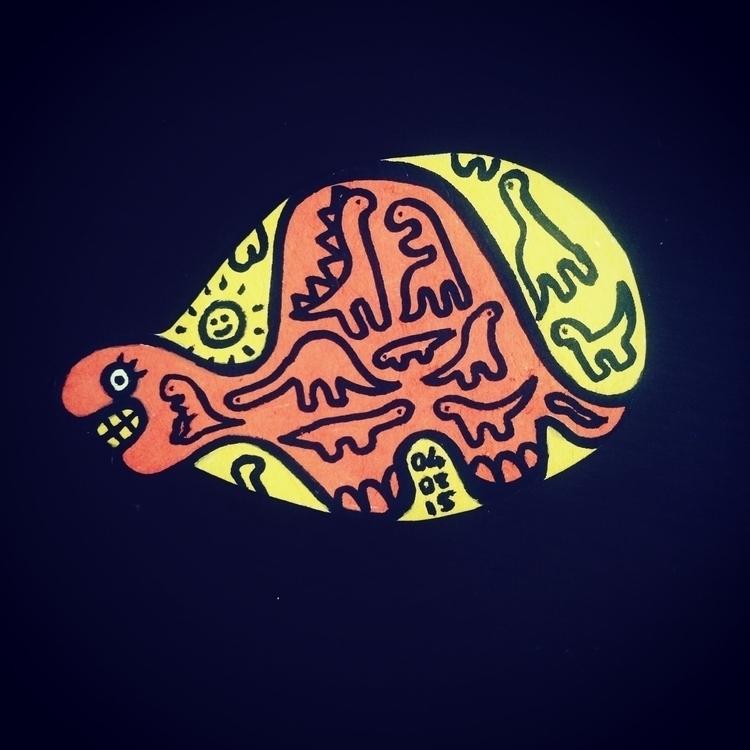 dinosaur, illustration, illustrator - gunes_ozcan | ello