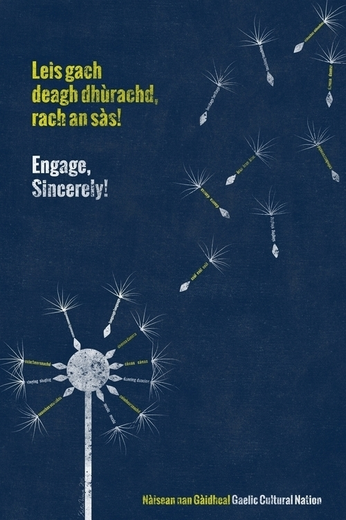 Posters part Gaelic cultural aw - katiewaye | ello