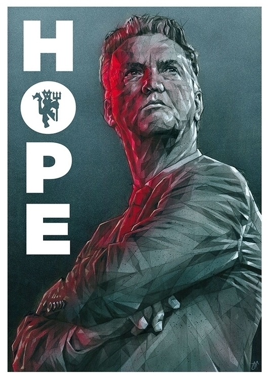 LVG - Hope - MUFC, football, Manchester - zregreb | ello