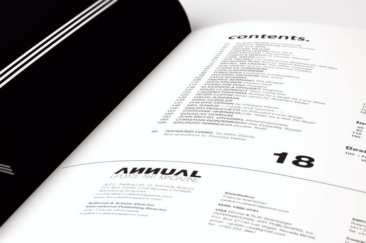 Annual Art Mag - magazine - picturgency | ello