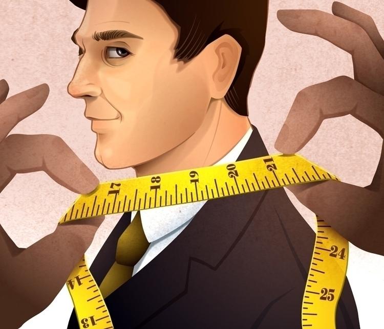 man measuring tape, Wall Street - charlenechua   ello