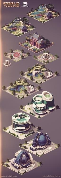 Gameloft, conceptart, environment - nen-1282 | ello