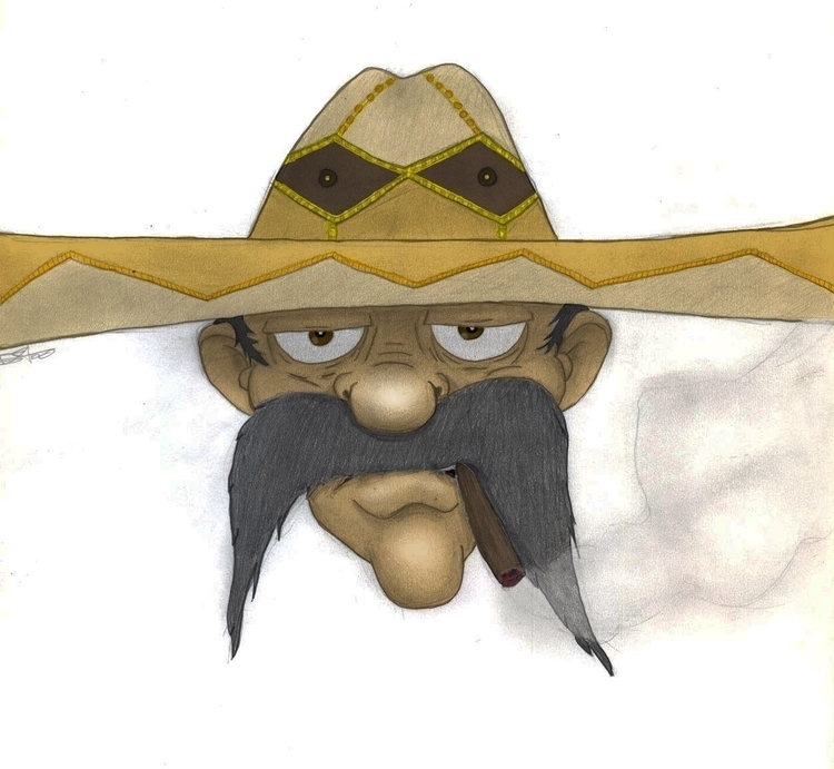 Mexican Style - illustration, characterdesign - juanedgar | ello