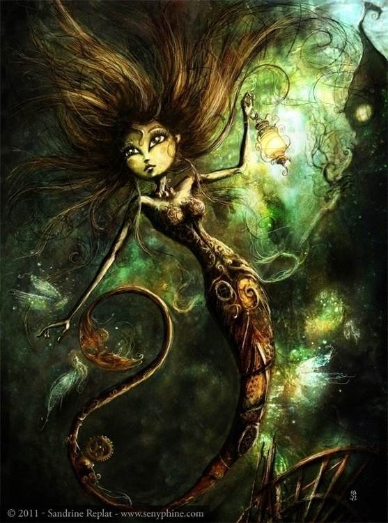 Mermaid Fireflies picture Mysté - senyphine | ello