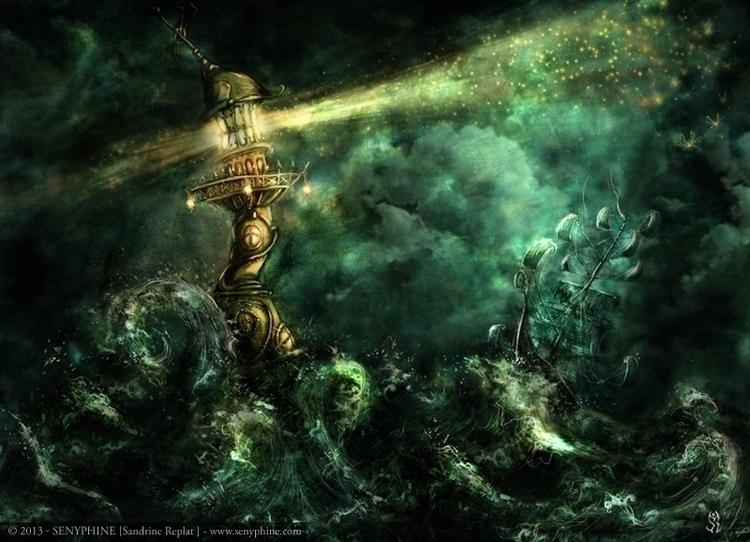 Light Storm picture Mystérieuse - senyphine | ello