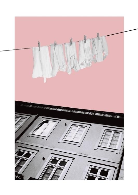 laundry, beatrizalao, illustration - beatrizalao | ello