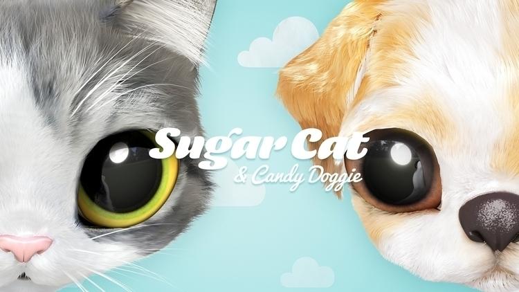 cute 'Sugar Cats' sweet 'Candy  - sugarcat | ello
