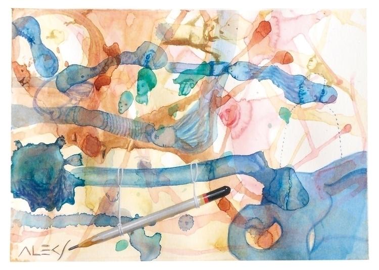 Pencil - painting, watercolor, acrylic - alecs-1191 | ello