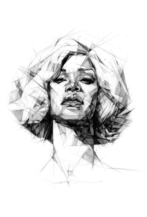 Rihanna - pencil - RiRi - zregreb | ello