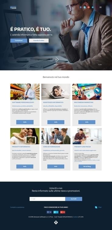 Web design Zerouno Software. Vi - gabrielenatussi | ello