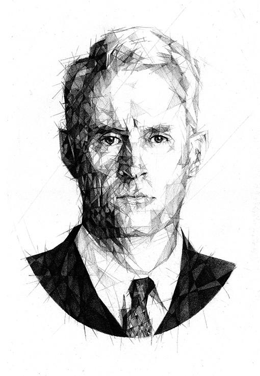Roger Sterling - pencil - madmen - zregreb | ello
