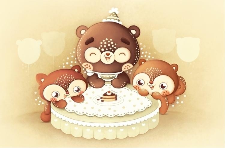 Birthday Boy - illustration, characterdesign - tamara-2805 | ello