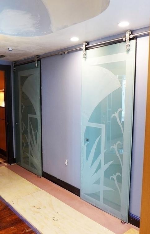 Deco - #interiordesign, #Etchedglass - dalespiry | ello