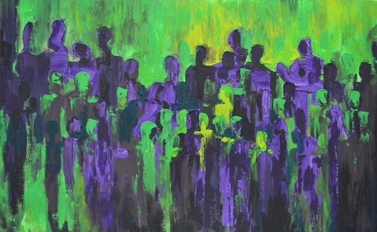 Socium 70x110 Acrylic canvas. 2 - tanya_vasilenko   ello