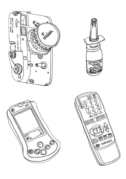 M2 remote control - illustration - stephanemercier | ello