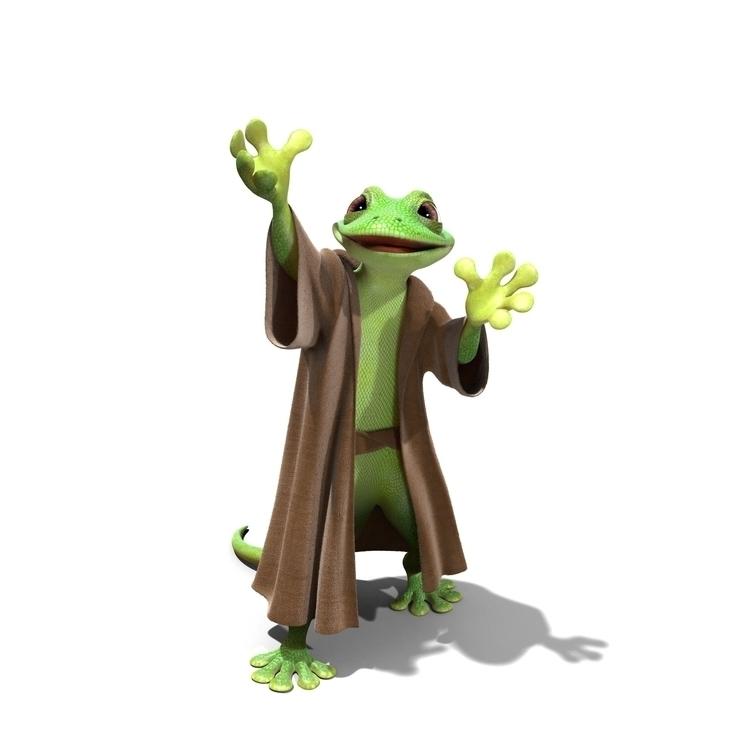Bridgestone Gecko - lizard, gecko - charactermill | ello