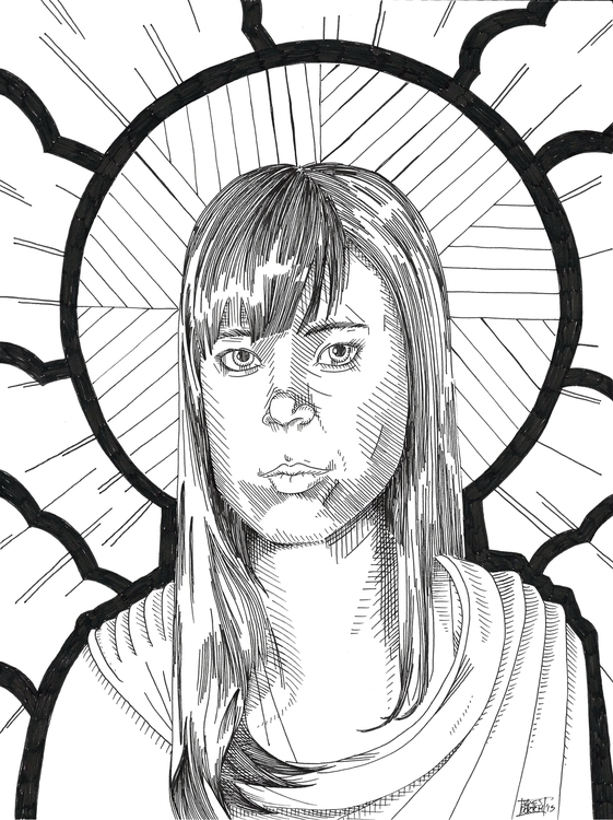 (Saint Aubrey) Micron pen Brist - jamesdortchart | ello