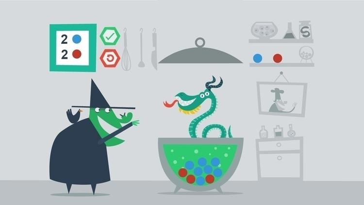Witch Level: Find balance ingre - sweatshopillustrations | ello
