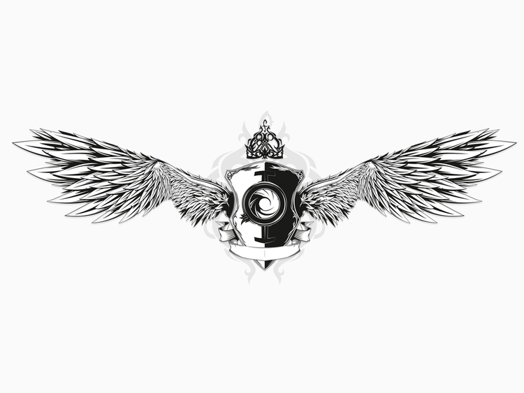 Wings - vectorillustration, wings - biko-1282   ello