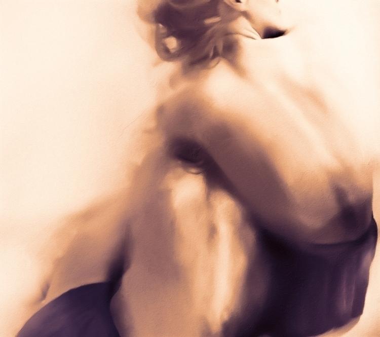 Afraid (hybrid photo-painting)  - broken-7987 | ello