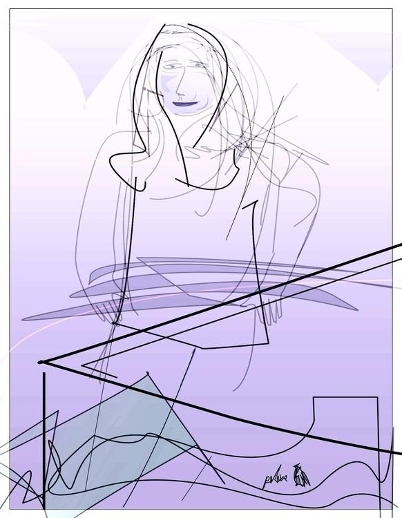 Avrill Blues - illustration, characterdesign - danielspeterv | ello