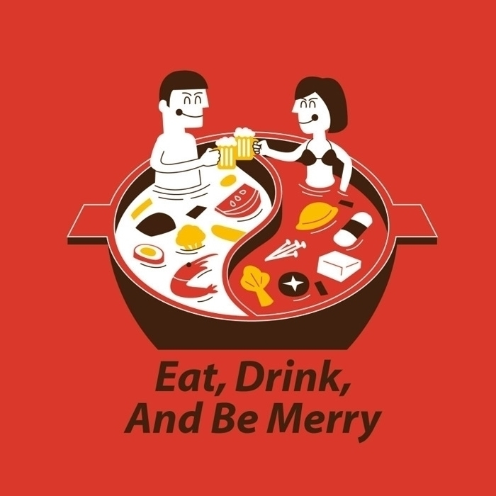 eat, drink, merry - uncle_alvin | ello