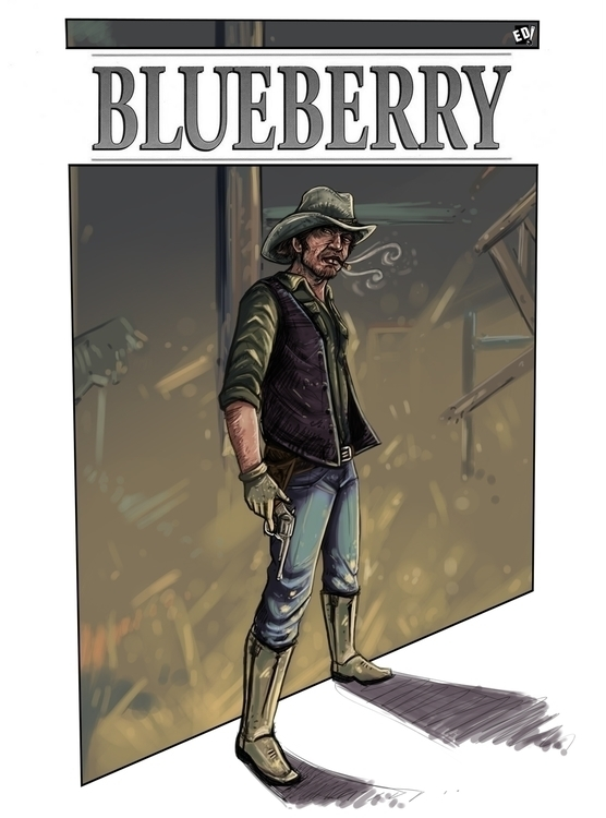 Based Blueberry. Tribute great  - eddaviel | ello