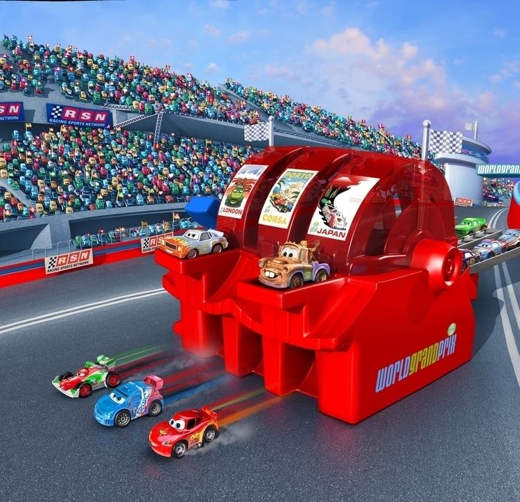 Cars Mattel - cars, pixar, 3d, illustration - charactermill | ello