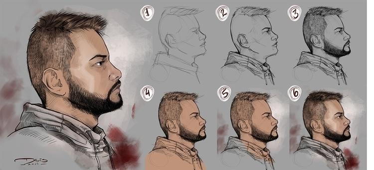 illustration#digitalart#design#characterdesign#photoshop#painting#davisvrworks#drawing#conceptart - davisvrworks   ello