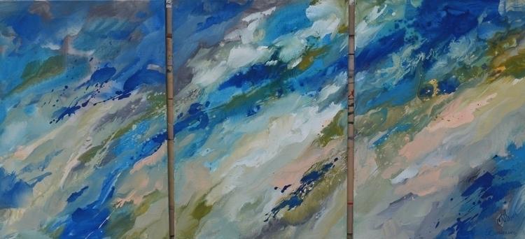Aethereality, triptych, parts.  - tanya_vasilenko | ello