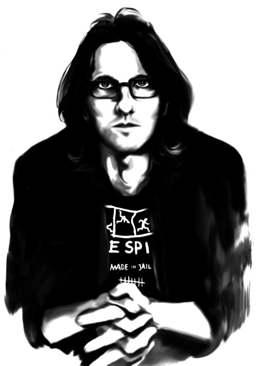Steven Wilson - digitalart, portrait - annagosteva | ello